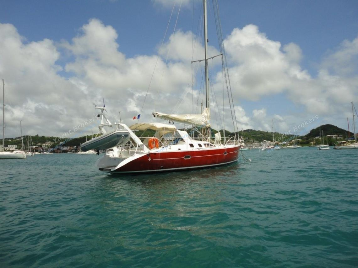 Passoa 46 : At anchor in Martinique